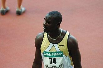 Ladji Doucouré - Doucouré at the 2006 Meeting Gaz de France