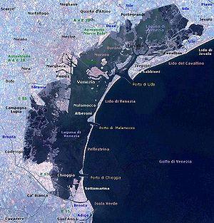 Economic history of Venice - Today's lagoon