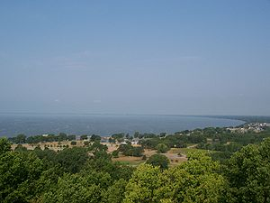 The north end of Lake Winnebago taken from the...