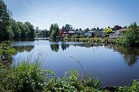 Lake Leona in Johnson City, Oregon.jpg