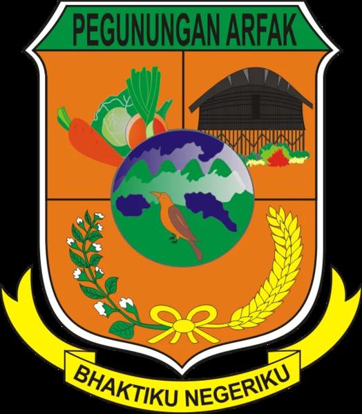 File:Lambang Kabupaten Pegunungan Arfak.webp