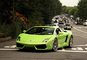Lamborghini Gallardo LP560-4 Green