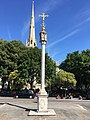 Lancaster Gate Memorial Cross in August 2017.jpg
