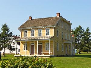 Landis Valley Museum - Image: Landis Valley m Issac L house