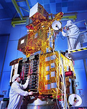 Landsat 7 - Landsat 7 before launch