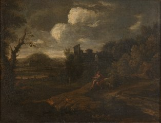 Landscape with St John the Baptist