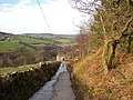 Lane to Spring Fields, Stainland - geograph.org.uk - 692372.jpg