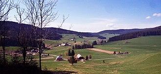 Titisee-Neustadt - Langenordnach valley