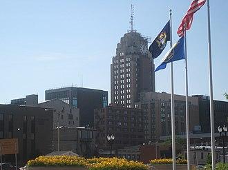 Boji Tower - Image: Lansing, Michigan Boji Tower