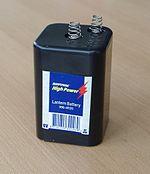 Laternenbatterie