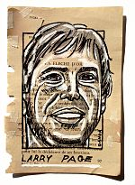 Larry Page Portrait Painting Collage By Danor Shtruzman.jpg