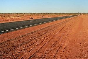Lasseter Highway - Image: Lasseter Highway