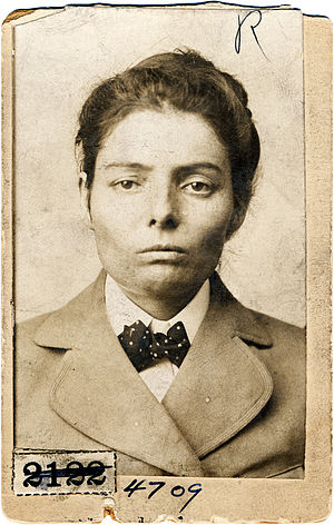 William Carver (Wild Bunch) - Laura Bullion 1893 Pinkerton mugshot