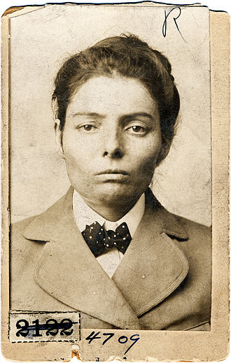 Laura Bullion - Laura Bullion mugshot (1893)