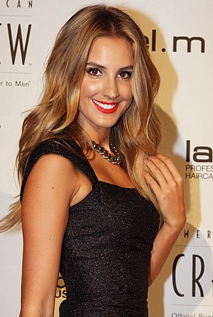 Laura Dundovic - Dundovic at the 2013 Australian Hair Fashion Awards.
