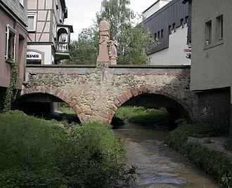 Bensheim - The Winkelbach at the Mittelbrücke