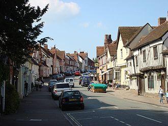 Lavenham - Image: Lavenham High Street