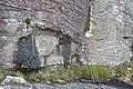Layered Gabbro in Ardnamurchan in Scotland - geograph 3656890.jpg