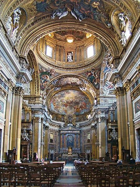 Iglesia del Gesú. Fuente: Wikipedia