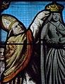 Le Folgoët (29) Basilique Vitrail du couronnement 10.JPG