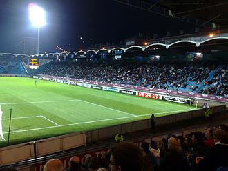 Stade Jules Deschaseaux - Image: Le Stade Jules Deschaseaux, tribune Paul Langlois