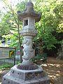 Le Temple Shintô Yamanaka-Hachiman-gû - La lanterne de pierre.jpg