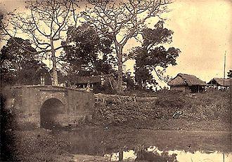 Henri Rivière (naval officer) - Paper Bridge (Pont de Papier)