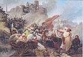 Leander Russ - Sturm der Türken auf die Löwelbastei 1683.jpg