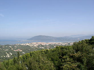 Lefkada - View of Lefkada (city)