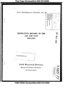Legislative History of the AAF and USAF.djvu