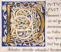 Leonardo bruni, historie florentini populi, firenze, 1425-75 ca. (bml san marco 366) 03 iniziale D.jpg