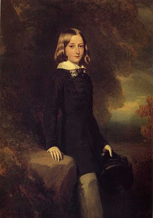 Leopold II of Belgium - Leopold in 1844, by Franz Xaver Winterhalter