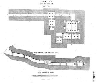 KV7 - Map of KV7