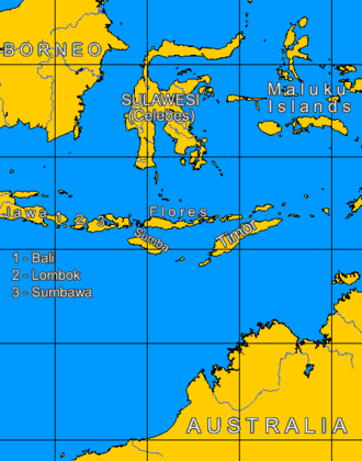 Sangeang Api - Lesser Sunda Islands and Java sea