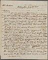 Letter from Benjamin Henry Latrobe to Dolley Madison (NYPL b11904004-5217962).jpg