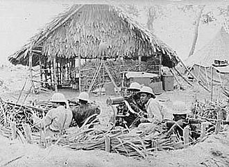 History of Liberia - American troops in Liberia during World War II