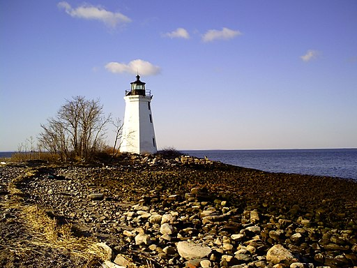 Lighthouse Seaside Park Bridgeport Connecticut - panoramio