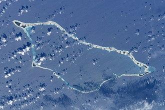 Likiep Atoll - NASA picture of Likiep Atoll