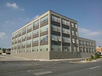 The Linograph Company Building - Image: Linograph Co building davenport iowa