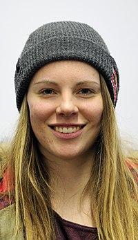 Lisa Zimmermann bei der Olympia-Einkleidung Erding 2014 (Martin Rulsch) 06.jpg