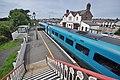 Llanfairpwll railway station from walkway.JPG