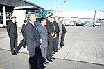 Llegada Presidenta Bachellet al aeropuerto carriel sur de Talcahuano. (3330913694).jpg
