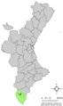 Localització de Callosa del Segura respecte al País Valencià.png
