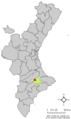 Localització de Muro respecte el País Valencià.png