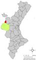 Localització de Sinarques respecte del País Valencià.png