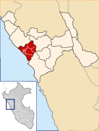 Location of the province Trujillo in La Libertad.svg