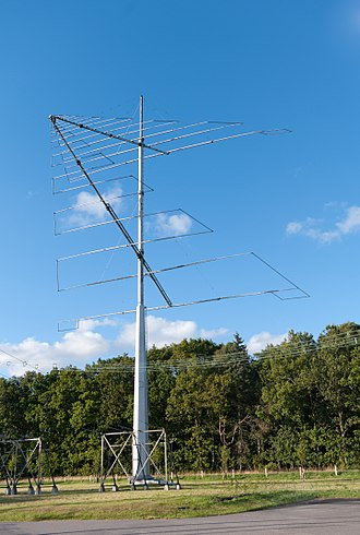 Varberg Radio Station - Image: Log periodic shortwave antenna Grimeton