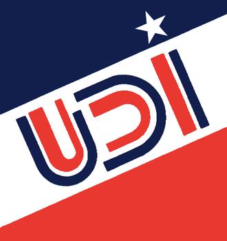 Chilean national plebiscite, 1988 - Image: Logo Udi 1983 1989