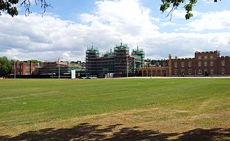 Royal Military Academy, Woolwich - View from the north-west in 2015