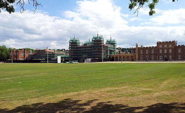 View from the north-west in 2015 London, Woolwich-Shooters Hill, former Royal Military Academy 07.jpg